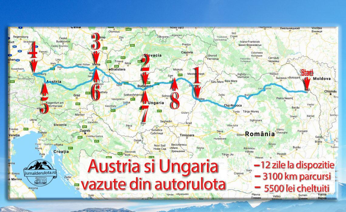 Stam acasa si povestim despre calatoria pe care am facut-o cu autorulota, iarna, in Ungaria si Austria